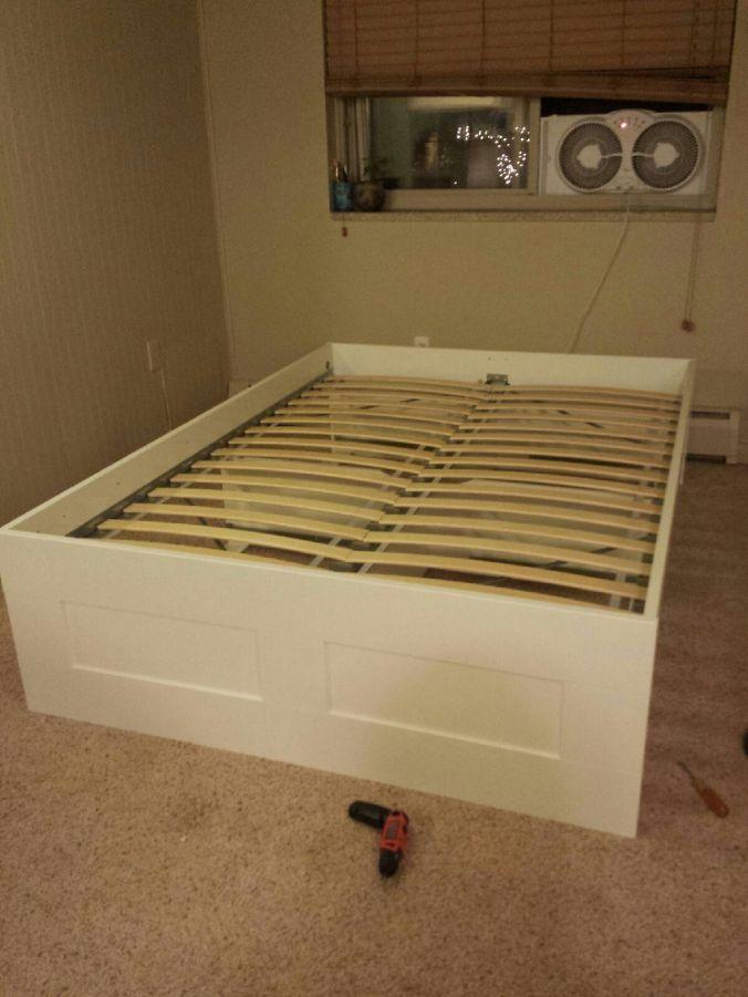 IKEA Brimnes. www.thislittlespace.com