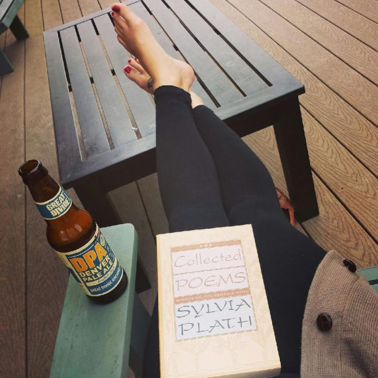 sylviaplathbeer. image rights: www.thislittlespace.com