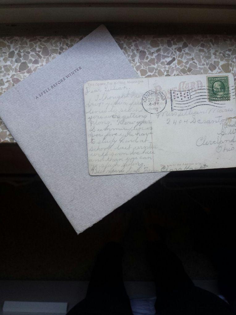 vintage postcard. www.thislittlespace.com